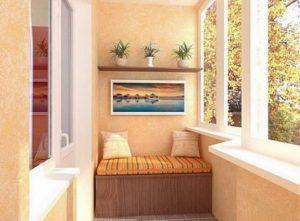 отделка балкона декоративной штукатуркой фото 5